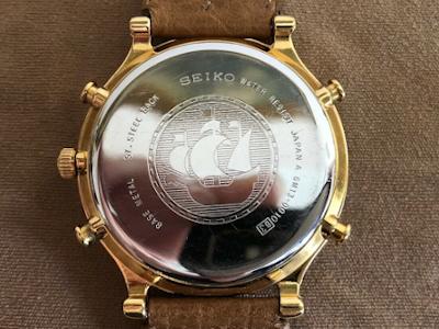 Reloj Seiko 6M13-0010 restaurado