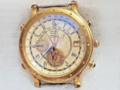 esfera reloj weiko 6M13-0010 calendario perpetuo