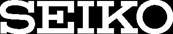 Logotipo Seiko blanco